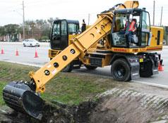 Graddle Digging Ditch